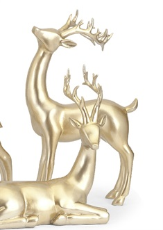 Reindeer- Gold -Right