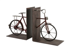 Renee Bicycle Book Ends