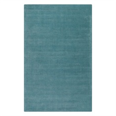 Rhine Cerulean Blue Hand Tufted Rug Swatch