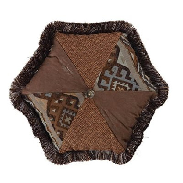 Rio Grande Hexagon Pillow