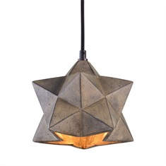 Rocher 1 Light Geometric Pendant