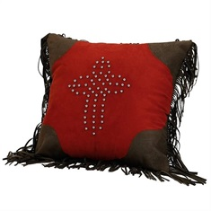 Rock Canyon Red Cross Pillow