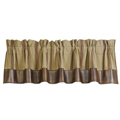 Ruidoso Striped Valance