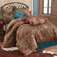 San Angelo Comforter Set - Teal