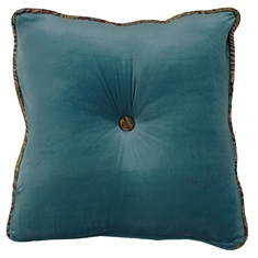 San Angelo Teal Pillow