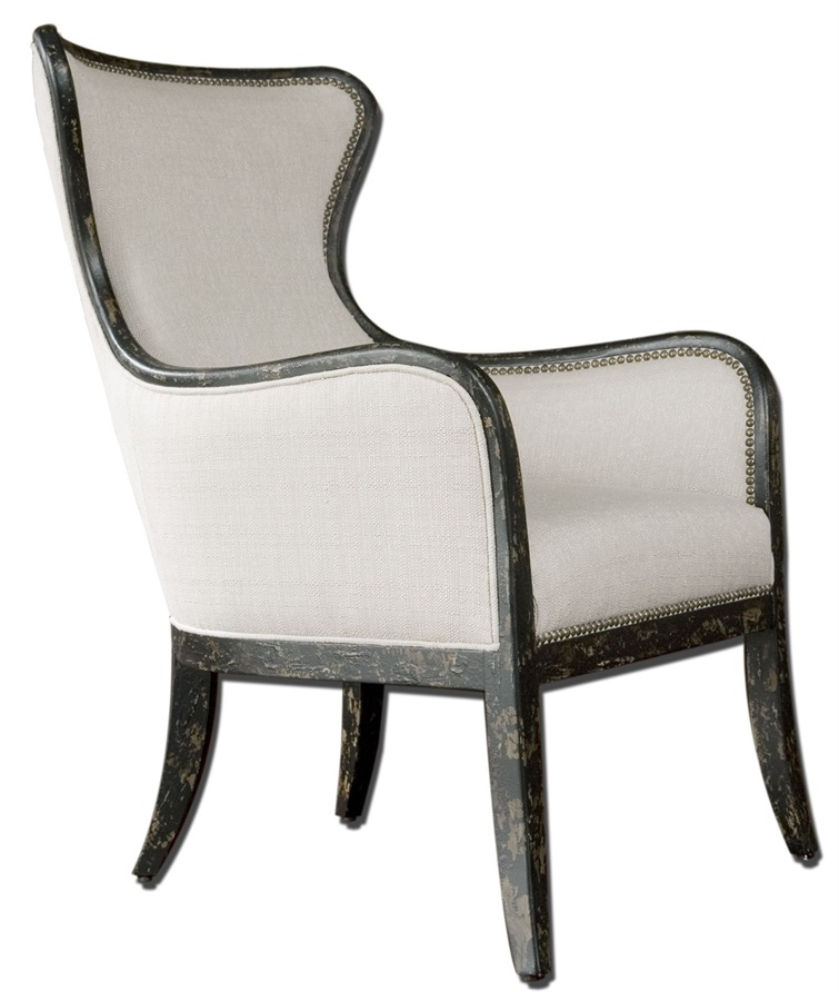 Sandy Wing Back Armchair