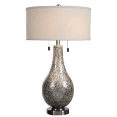 Saracena Mercury Glass Lamp