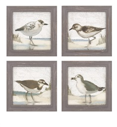 Sea Bird Wall Décor - Ast 4