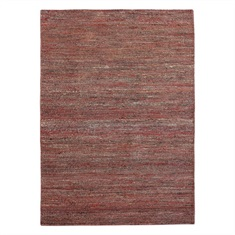 Seeley Rust Hand Woven Rug Swatch