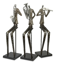 Sinatra Jazz Band Figures - Set of 3