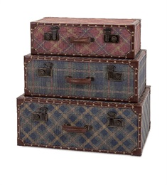 Ski Lodge Suitcase - Set of 3