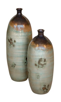 Small Neck Bottles S/2