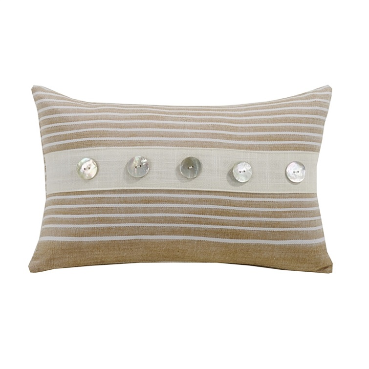 Small Striped Pillow