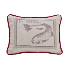 South Haven Trout Pillow