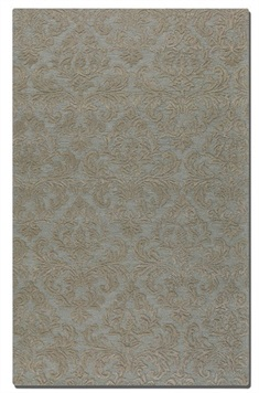 St. Petersburg Light Blue Hand Tufted Rug Swatch