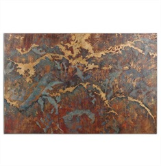 Stormy Night Abstract Wall Art