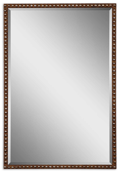 Tempe Distressed Brown Mirror