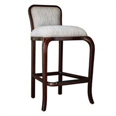 Tilley Mahogany Bar Stool