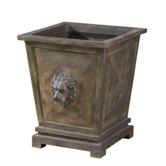 Tobia Burnt Terracotta Planter