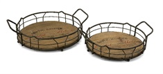 Traineur Serving Trays - Set of 2