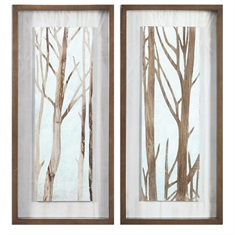 Tree Focus Shadow Box, S/2