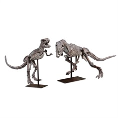 T-Rex Sculptures S/2