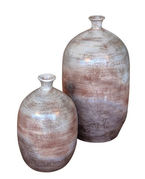 Tuscan Olive Urns/Set of 2