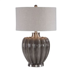 Uttermost Adler Smoky Gray Table Lamp