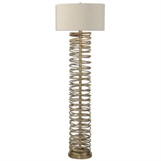Uttermost Amarey Metal Ring Floor Lamp