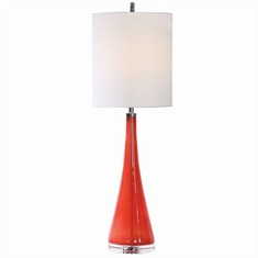 Uttermost Ariel Tapered Glass Buffet Lamp