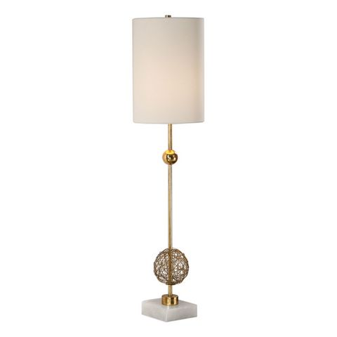 Uttermost Breckyn Gold Buffet Lamp