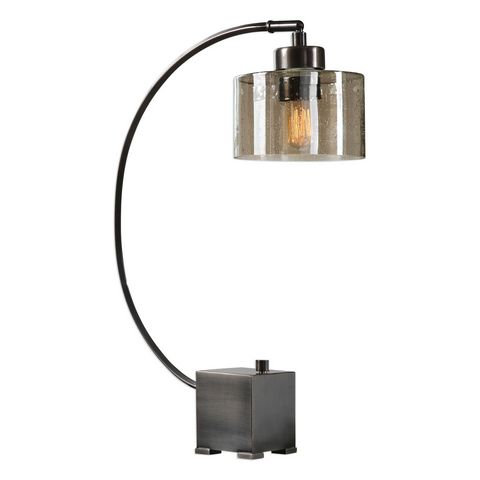Uttermost Cervino Arched Iron Lamp