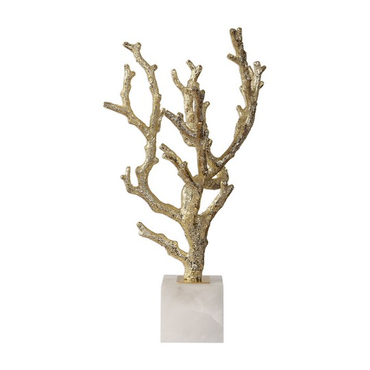 Uttermost Coraline Silver Coral Sculptures