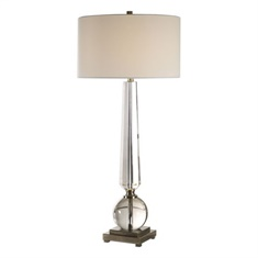 Uttermost Crista Crystal Lamp