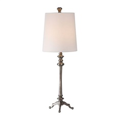 Uttermost Delilah Steel Buffet Lamp