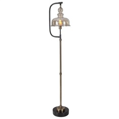 Uttermost Elieser Industrial Floor Lamp