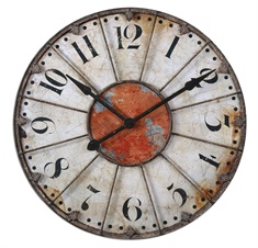 "Uttermost Ellsworth 29"" Wall Clock"