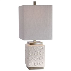 Uttermost Emeline White Accent Lamp