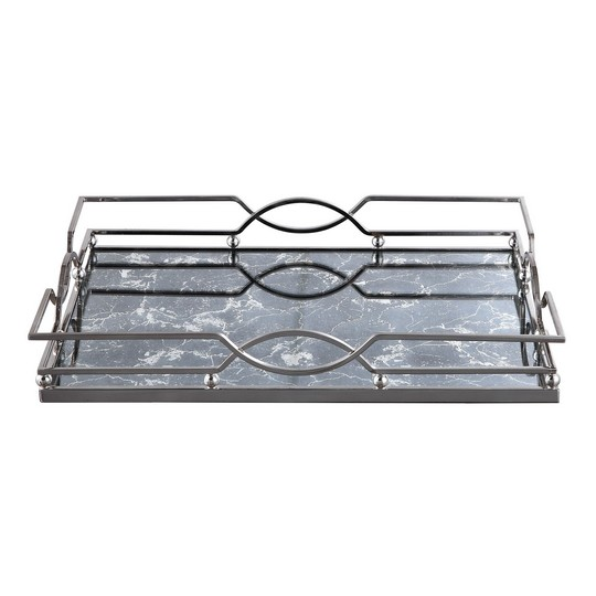Uttermost Eugenie Nickel Tray