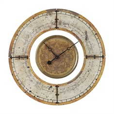 Uttermost Ezekiel Weathered Wall Clock