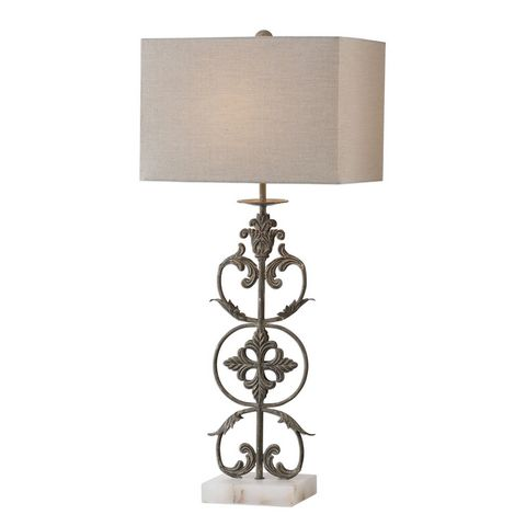 Uttermost Gerosa Aged Bronze Table Lamp