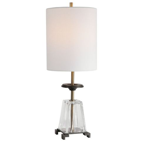 Uttermost Hancock Glass Accent Lamp