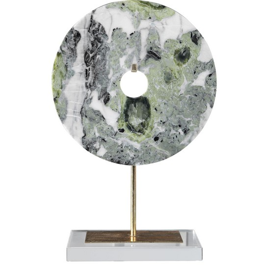 Uttermost Irelyn Marble Disk Sculpture