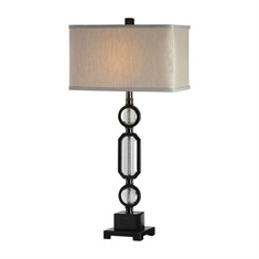 Uttermost Jugovo Bronze & Crystal Lamp
