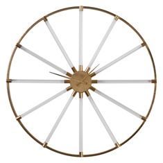 Uttermost Kyota Gold Wall Clock