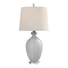Uttermost Leah Frosted Glass Table Lamp
