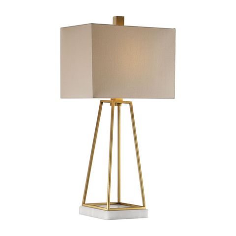 Uttermost Mackean Metallic Gold Lamp