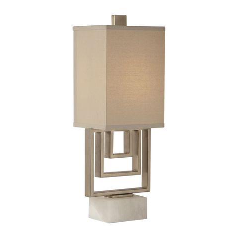 Uttermost Medora Brushed Nickel Lamp
