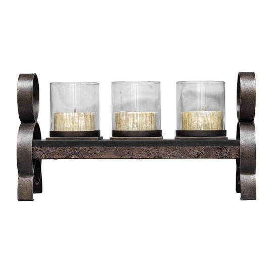 Uttermost Mila Antique Bronze Candleholder