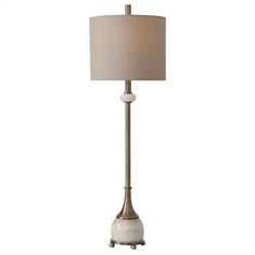 Uttermost Natania Plated Brass Buffet Lamp